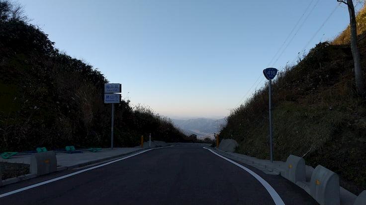 福井県ヒルクライム国道416号線頂上