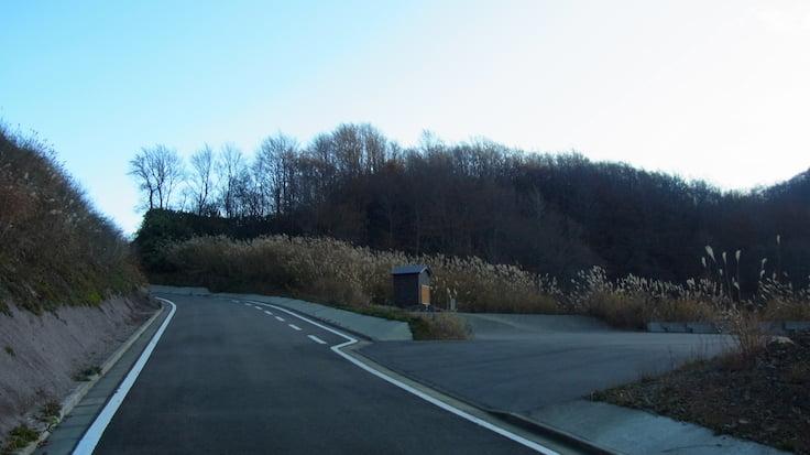 福井県ヒルクライム国道416号線頂上付近