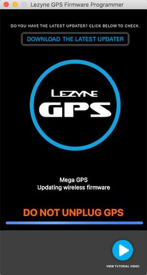 LEZYNE(レザイン) MEGA XL GPSファームウェアアップデート方法