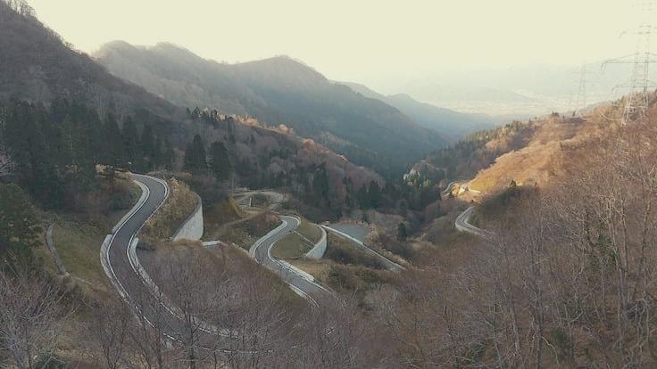 福井県ヒルクライム国道416号線景色