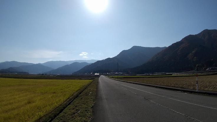 黒谷の雪崩防護壁ライド