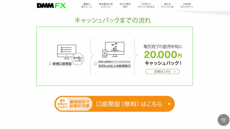 セルフバックで30000円報酬!DMM FX口座開設+1Lot取引までの手順まとめ(1.口座開設編)